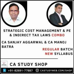 CA FINAL SCM PE & IDT NEW SYLLABUS REGULAR COMBO BY CA SANJAY AGGARWAL & CA MANOJ BATRA