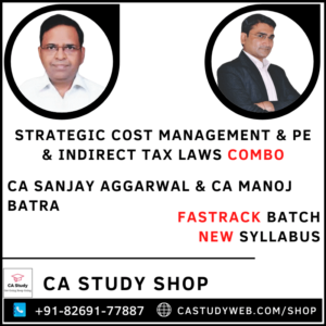 SCM PE & IDT Combo Fastrack by CA Sanjay Aggarwal & CA Manoj Batra