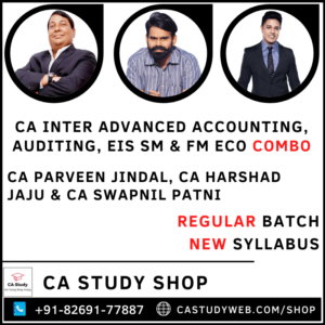 CA Inter Second Group Combo by Swapnil Patni Classes