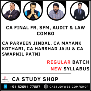 CA Final Group I Combo by Swapnil Patni Classes