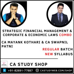 SFM Law Combo by CA Mayank Kothari CA Swapnil Patni
