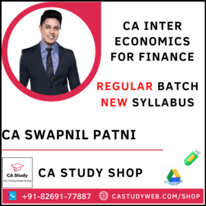 CA INTER ECO FOR FINANCE REGULAR BY CA SWAPNIL PATNI