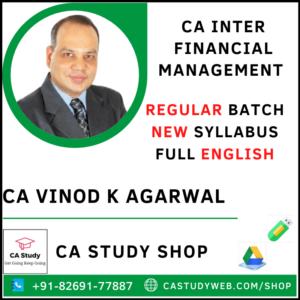 CA Vinod Kumar Agarwal Pendrive Classes Inter FM