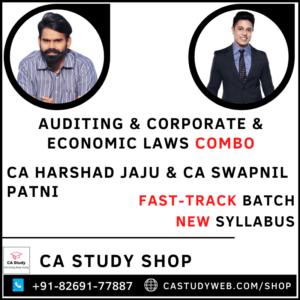 Auditing Corporate Economic Laws Combo Fastrack By CA Harshad Jaju CA Swapnil Patni