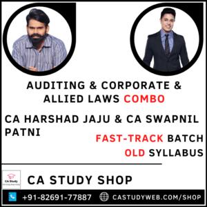 Auditing Corporate Allied Laws Combo Fastrack By CA Harshad Jaju CA Swapnil Patni