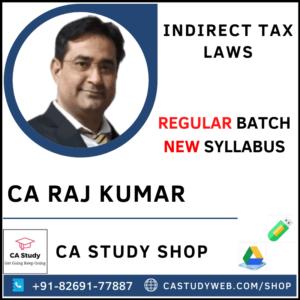 CA Raj Kumar Pendrive Classes CA Final IDT Regular