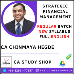 CA Chinmaya Hedge Pendrive Classes Final SFM