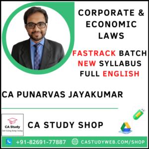 CA Punarvas Jayakumar Pendrive Classes CA Final Law