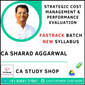 CA Sharad Agrawal Pendrive Classes SCM PE Fastrack