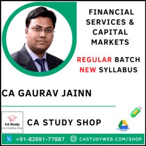 CA Gaurav Jain Pendrive Classes FSCM Regular