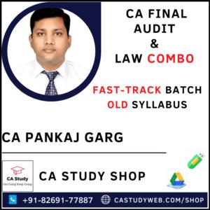 CA Pankaj Garg Pendrive Classes Leading Audit & Law Combo Fastrack