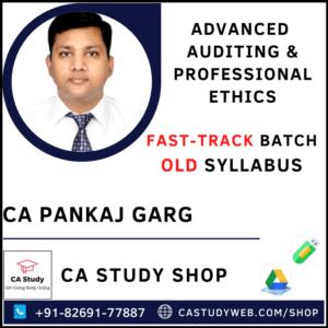CA Pankaj Garg Pendrive Classes Best Audit Old Syllabus Fastrack