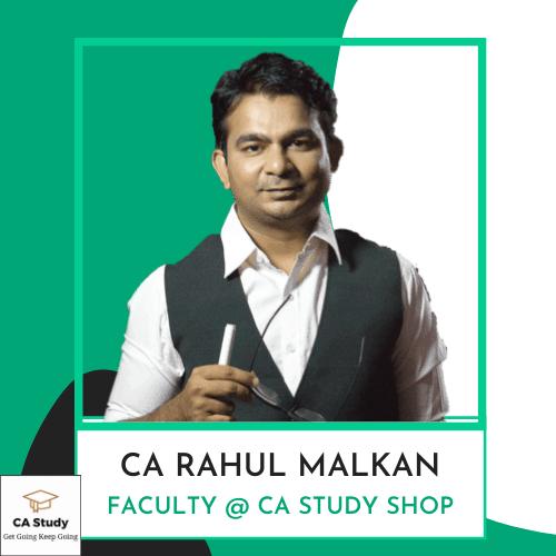 CA Rahul Malkan