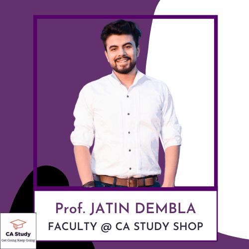 Prof Jatin Dembla