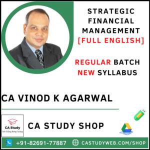 CA Vinod Kumar Agarwal Pendrive Classes SFM Regular