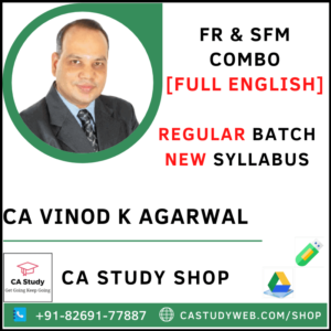 FR SFM Combo Regular Batch by CA Vinod Kumar Agarwal