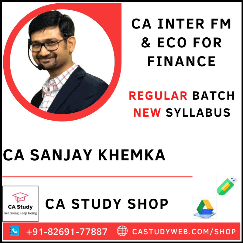 CA Inter Accounting ICAI Study Material for May 2021 & Onward 6