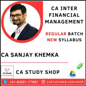 CA Sanjay Khemka Pendrive Classes Exclusive FM Regular