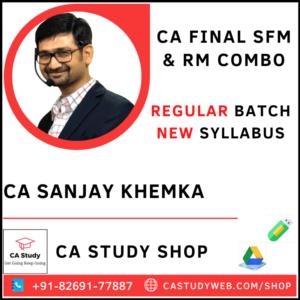 CA Sanjay Khemka Pendrive Classes Exclusive SFM RM Combo