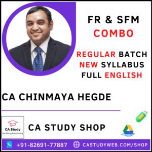 CA Chinmaya Hegde Pendrive Classes FR SFM Combo Regular Batch