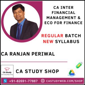 CA Ranjan Periwal Pendrive Classes Inter FM Eco
