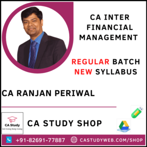 CA Ranjan Periwal Pendrive Classes Inter FM