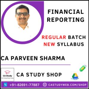 CA Parveen Sharma Pendrive Classes Financial Reporting