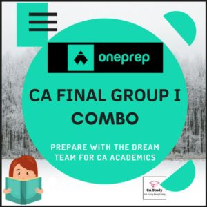 CA FINAL GROUP I COURSE BY ONEPREP