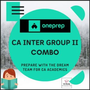 CA INTER GROUP II COURSE BY ONEPREP
