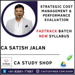 CA Satish Jalan SCM PE Fastrack Pendrive