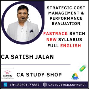 CA Satish Jalan SCM PE Fastrack
