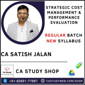 CA Satish Jalan CA Final Costing SCM PE Pendrive
