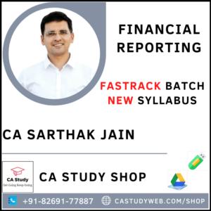 CA Sarthak Jain FR Fastrack Pendrive