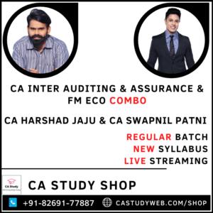 CA Inter Audit FM Eco Combo by CA Harshad Jaju and CA Swapnil Patni