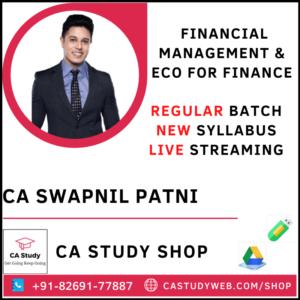 CA Swapnil Patni Inter FM Eco Live Classes