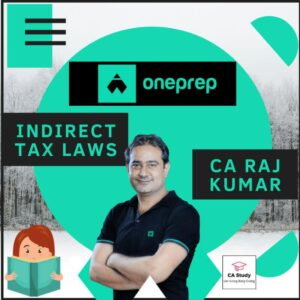 IDT CA Final by CA Raj Kumar Oneprep Course